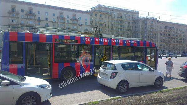 11 троллейбус москва: